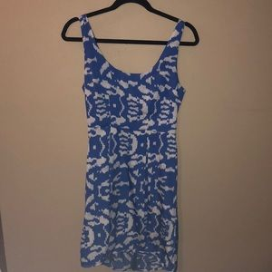 silence + noise size 4 blue and white dress